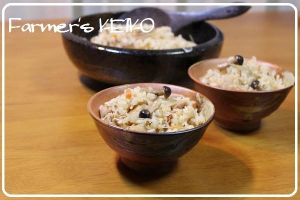 【農家のレシピ】五目炊き込みご飯