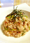 鯵の干物の簡単ちらし寿司♪