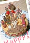 『フレジエ』フォーゼ如月弦太郎ケーキ
