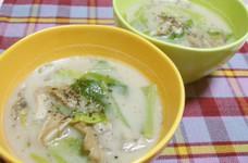☆きゃべつと舞茸の炒めスープ☆