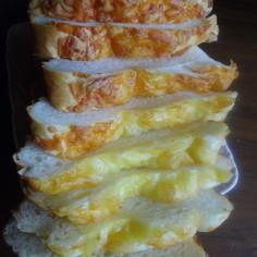HBで☆パリパリ☆チーズ食パン