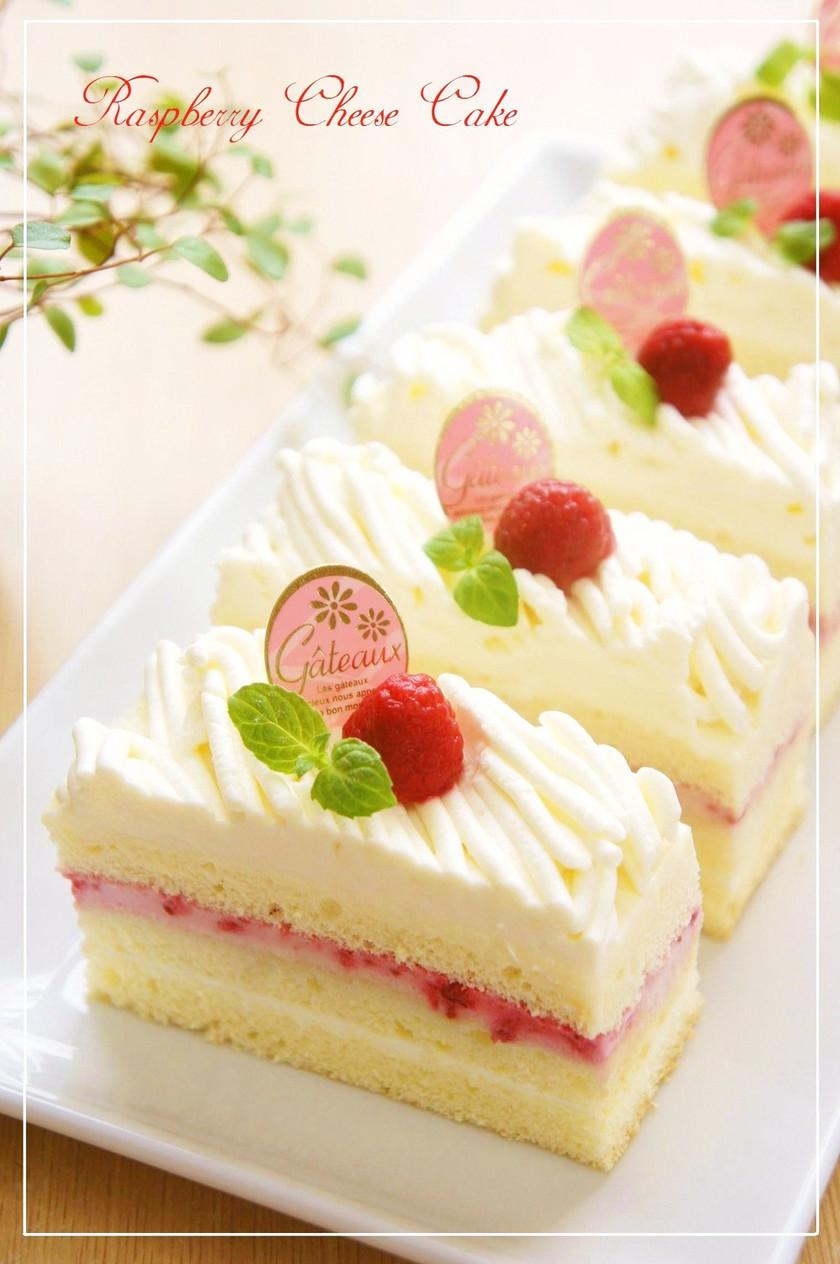 ラズベリーチーズモンブランショートケーキ