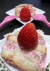 材料3つで超簡単♪トットちゃんの春ケーキ