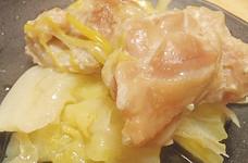 塩麹で漬けて★鶏とキャベツのタジン蒸し★