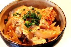 ダイエットに!ヘルシー高野豆腐で親子丼?