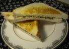 ごま好きさんのためのホットチーズサンド