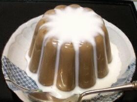 粉寒天菓子☆ミルクコーヒーゼリー