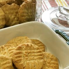 ピーナツバター♡クッキー