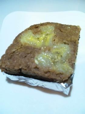 レンジでおから豆乳バナナの簡単ブラウニー