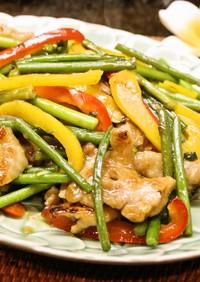 パパッとうまぁ❤鶏ももと野菜の炒め物