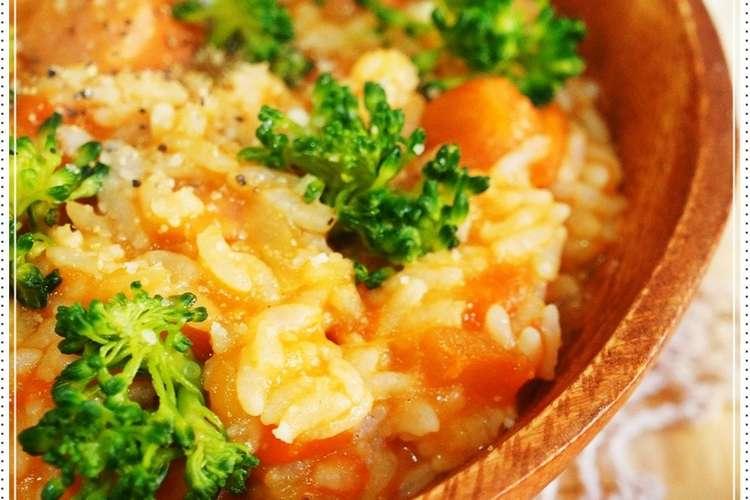 レシピ トマト リゾット