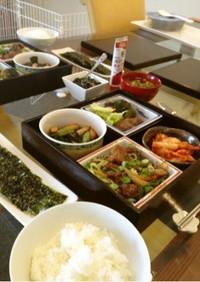 少しの牛肉でも豪華☆焼肉松花堂弁当ランチ