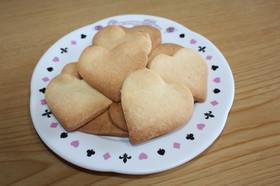 子どものおやつに型抜きクッキー