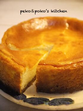 私のベイクドチーズケーキ