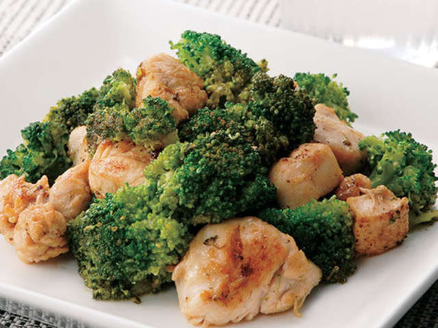 鶏肉 ブロッコリー
