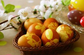 エコ&お洒落❁ゆで卵(イースターエッグ)