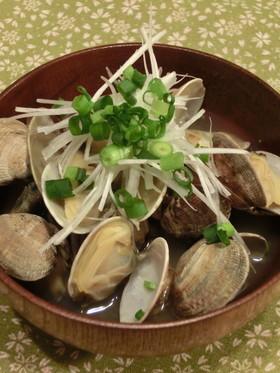 貝汁(アサリの味噌汁)【砂抜き方付き】