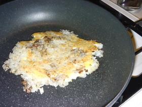 ご飯でピザ感up・お金ないレシピ