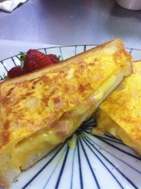 栄養満点♥トースト♥しっかり朝ごはん