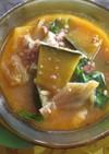 かぼちゃのキムチチゲスープ