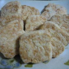 さっくりチーズクッキー