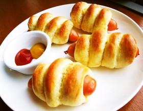 ⁂材料③HMで簡単ウインナーパン⁂