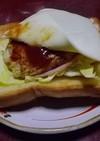 朝からおいしいガッツリトースト