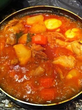 韓国料理 甘辛の鍋!タットリタン