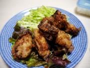 塩麹de鶏の唐揚げ(ぶつ切りがおすすめ)の写真