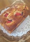 クリチinイチゴ×ブルーベリーのケーキ