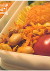 人参と豆のおかずღやみつきカレー風味ღ
