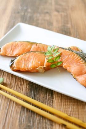 焼き鮭の冷凍法【作りおき】
