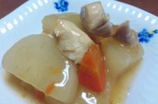 大根と鶏胸肉の煮物