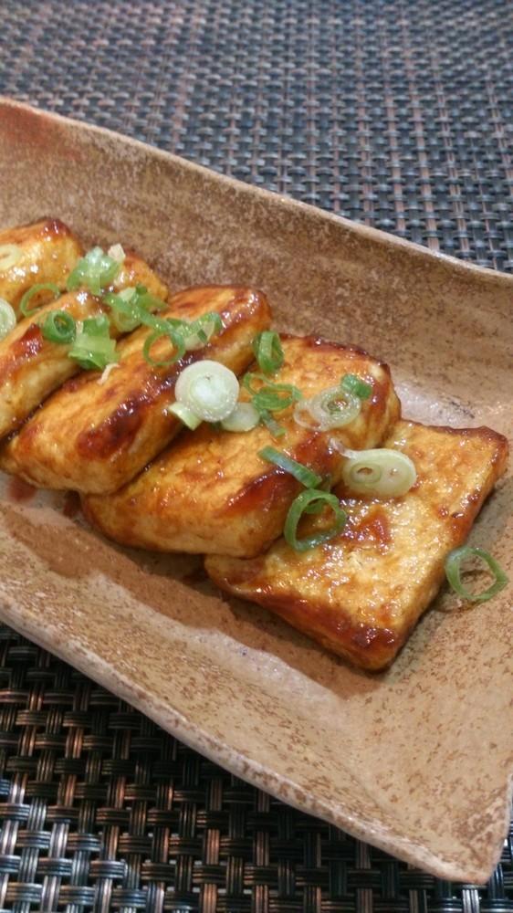 焼肉のたれで簡単*豆腐ステーキ*