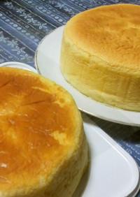 計量スプーン♪シュワ☆スフレチーズケーキ