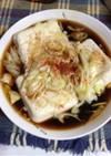 チンで湯豆腐