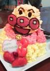 アンパンマン全身立体ケーキ
