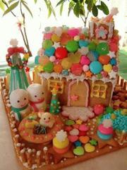 .。.:*・゜゜・*:.。. .。.:*・お菓子の家☆カラフルバージョン.。.:*・゜゜・*:.。. .。.:*・の写真