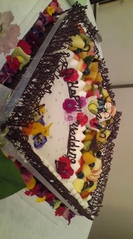 ♪ウェディングデコレーションケーキ♪