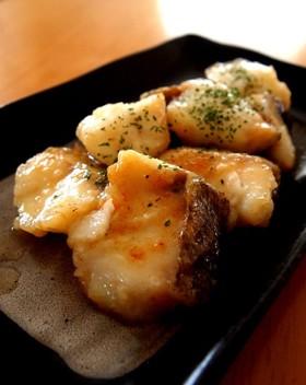 タラのバター醤油焼き