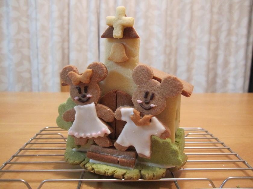 ☆結婚祝い☆ウエディングミッキークッキー