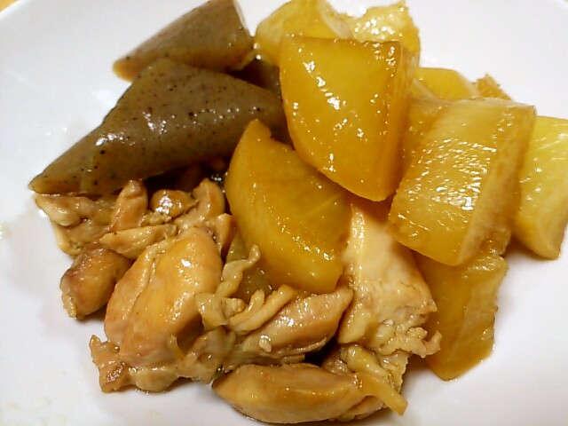 大根 と 鶏肉 の 煮物 レシピ