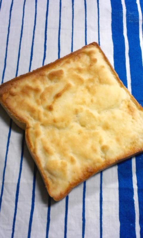 思いたったらすぐ!メロンパン風トースト