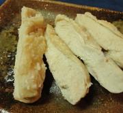 *しっとり柔らか*塩麹の蒸し鶏*の写真