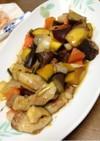 野菜たっぷり豚バラ根菜黒酢酢豚。