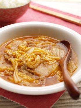 白菜の甘酢炒め煮