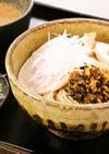 夏はつけ麺★高菜漬で塩分補給!