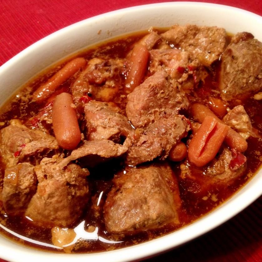 フィリピンの煮込み料理★豚肉のアドボ