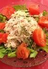 大根のつまのリメイクサラダ