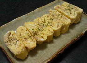 【味つけツナの卵焼き~(^O^)】
